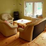 Gemütliche Sitzecke in der Wohnküche